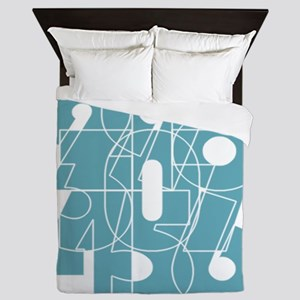 nvy-pull_cnumber Queen Duvet