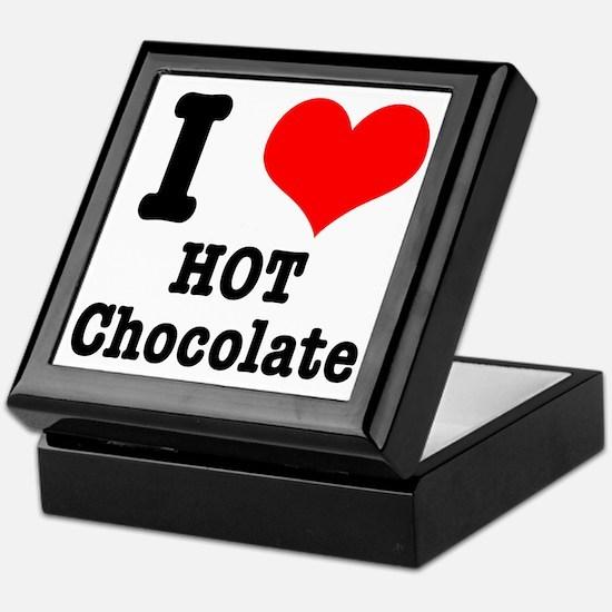I Heart (Love) Hot Chocolate Keepsake Box
