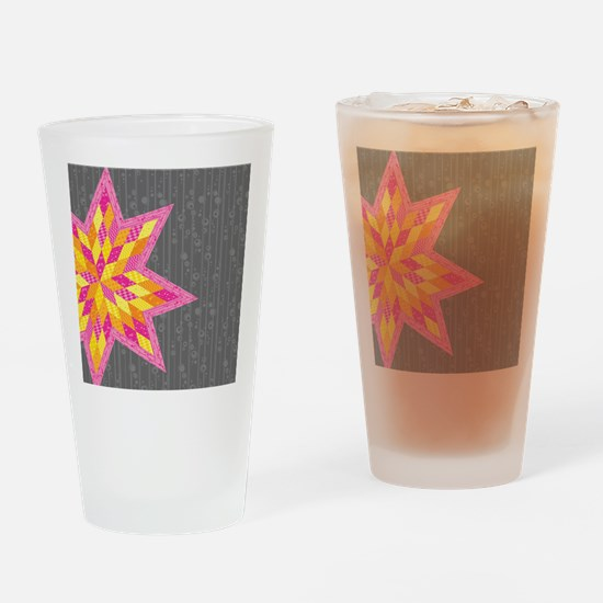 Morgan's Star Drinking Glass