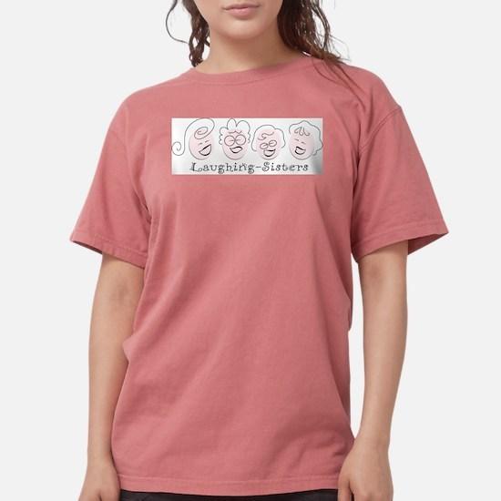 Laughing-Sisters Ash Grey T-Shirt