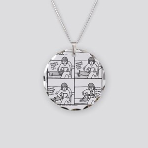 The Drill Necklace Circle Charm