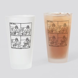 The Drill Drinking Glass