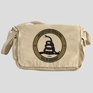 Defend the Second Amendment Messenger Bag