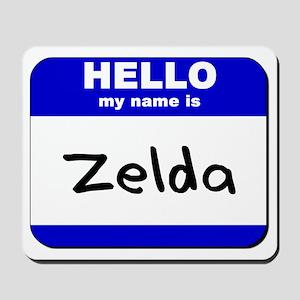 hello my name is zelda  Mousepad