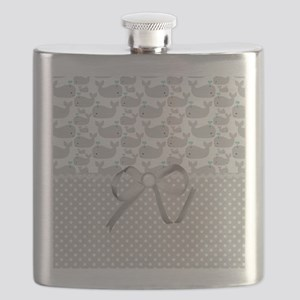 Grey Whales Flask