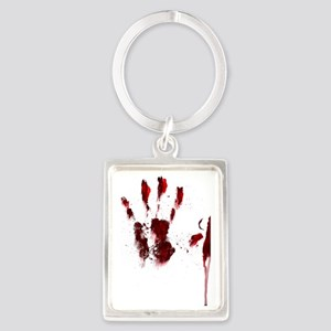 The Red Hand Portrait Keychain