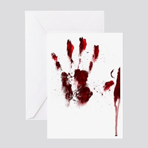 The Red Hand Greeting Card