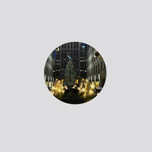 NY Holiday 23X18 Mini Button
