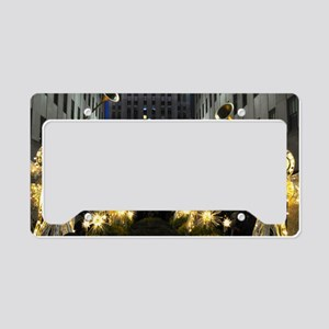 NY Holiday 13X9 License Plate Holder