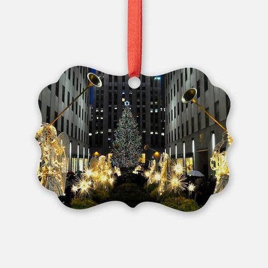 NY Holiday 13X9 Ornament