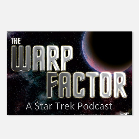 THE WARP  FACTOR - Poster Postcards (Package of 8)