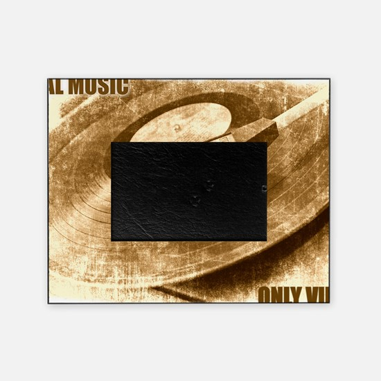 Real Music Only Vinyl Picture Frame