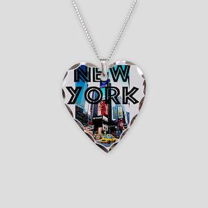 NewYork_12x12_TimesSquare Necklace Heart Charm