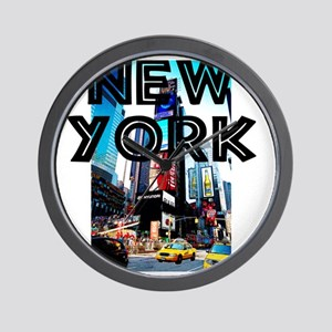 NewYork_12x12_TimesSquare Wall Clock