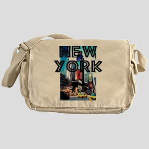NewYork_12x12_TimesSquare Messenger Bag