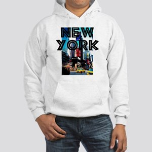 NewYork_12x12_TimesSquare Hooded Sweatshirt