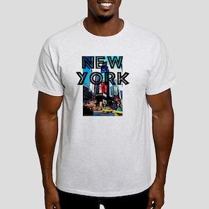 NewYork_12x12_TimesSquare Light T-Shirt