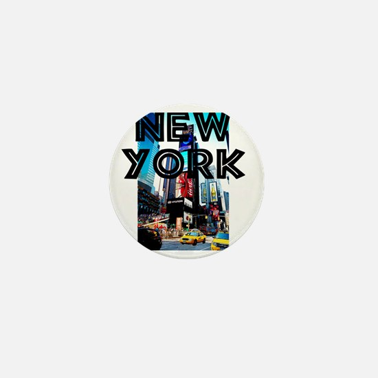 NewYork_12x12_TimesSquare Mini Button