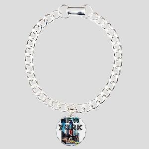 Newyork 12x12 Timessquar Charm Bracelet One