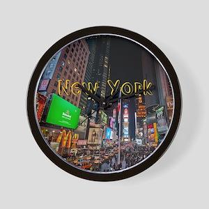 NewYork_11x9_CalendarPrint_TimesSquare Wall Clock