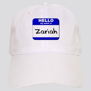 hello my name is zariah Cap