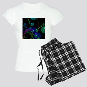 Abstract Dance of the Spher Women's Light Pajamas