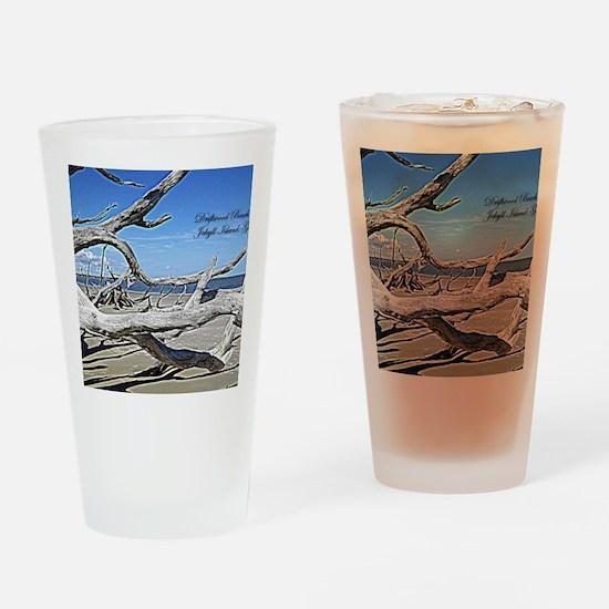 Driftwood Beach Drinking Glass