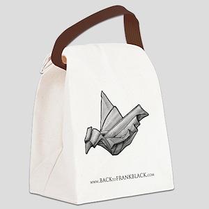 Paper Dove Canvas Lunch Bag