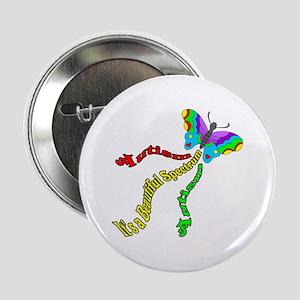 Autism It's a Beautiful Spectrum Button