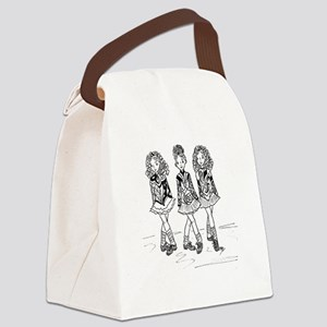 3 Dancers Canvas Lunch Bag