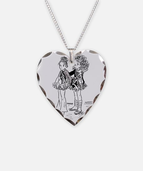 Rutabaga  McGee Prepare for a Necklace Heart Charm