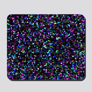 Glitter Graphic Background Mousepad