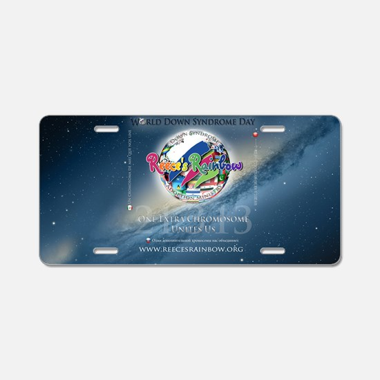 wdsd wide Aluminum License Plate
