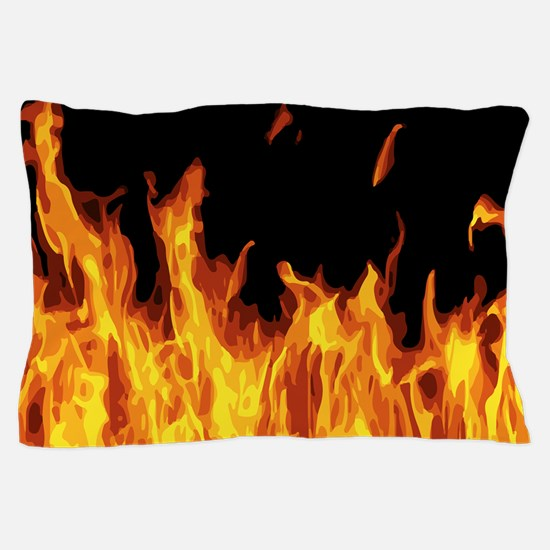 Flames Pillow Case