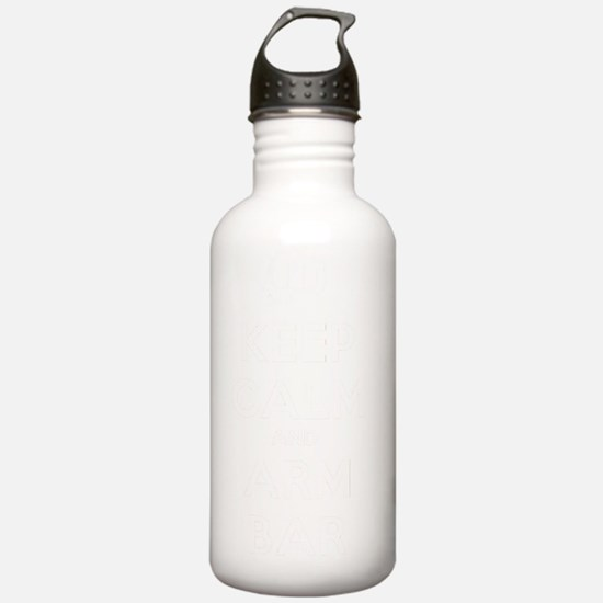 Keep Calm and Arm Bar Water Bottle