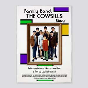 Family Band Full Move Poster 5'x7'Area Rug