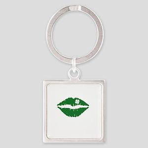 kissMeDeliciousSP1B Square Keychain