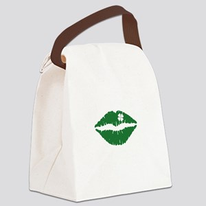 kissMeDeliciousSP1B Canvas Lunch Bag