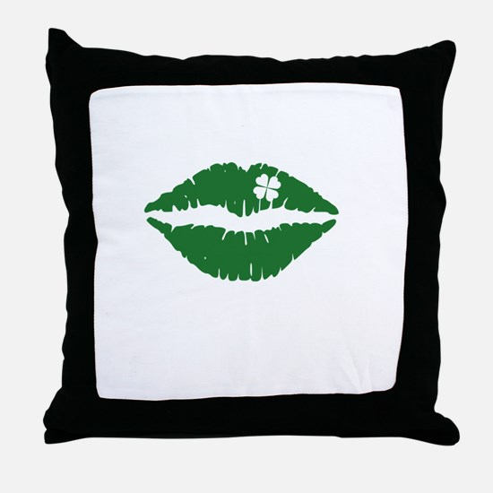 kissMeDeliciousSP1B Throw Pillow