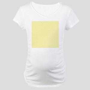 small dots baby yellow Maternity T-Shirt