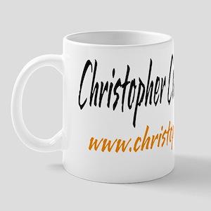 chris white tee Mug