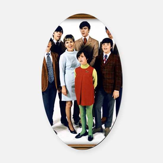 Cowsills Photo Oval Car Magnet