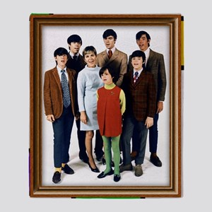 Cowsills Photo Throw Blanket
