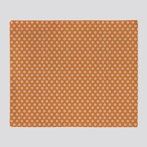 small dots Throw Blanket