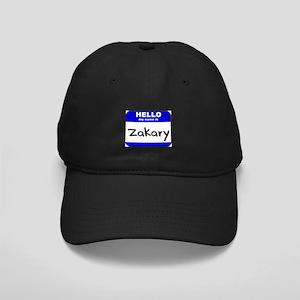 hello my name is zakary Black Cap