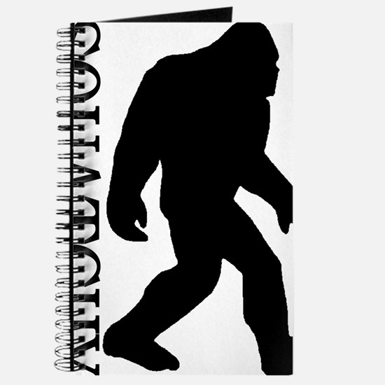 silhouette squatch black Journal