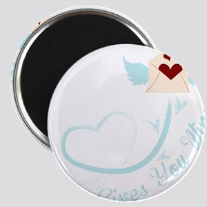 Love Give You Wings Letter Magnet