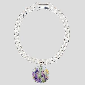 Romantic Ruffles Charm Bracelet, One Charm