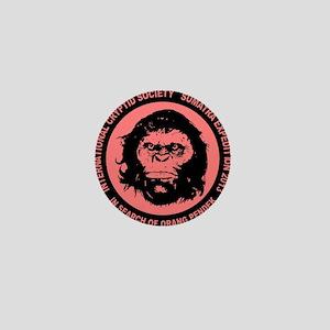Orang Pendek black pink Mini Button