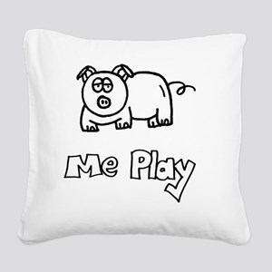 MePlay Pig Square Canvas Pillow
